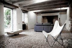 Contemporary rustic French interior - French photographer Alex Profit