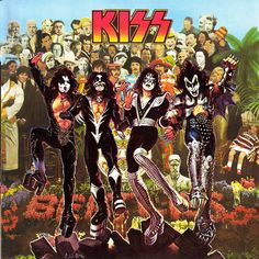 Beatles/Kiss Album Cover Mashup by TedHobgood, via Flickr