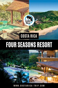 Four Seasons Resort Costa Rica, located in Papagayo Peninsula, Guanacaste is your best option if you're looking to combine luxury with the amazing tropical lush forest of Costa Rica. Costa Rica With Kids, Travel Guides, Travel Tips, Cost Rica, Costa Rica Travel, Unique Hotels, Top Destinations, Central America, Beach Resorts