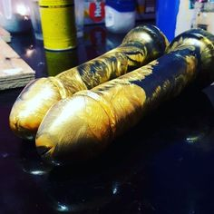 Swirly Black/Gold Adam 8in with suction cup. Still looking so damn elegant. #behindthescenes #handmadedildos #siliconedildo #blackandgold #siliconedildos #artwithdildos #sexualwellbeing #sexpositiveart #sextoys #strapon #pegging #instagramStory #godemiche #pearls #dildomaking #suctioncup #monday #Godemiche #SexToys #Handmade #Adult #SiliconeDildo #Dildo #ButtPlug