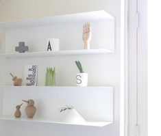 My Bedroom: IKEA Botkyrka Shelves :) by Flor from Nordic Days