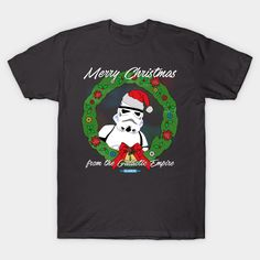 Star Wars Christmas - Merry Christmas from the Galactic Empire by hellogreedo