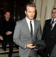 David Beckham Tops 'Sexiest Men In Suits' List