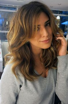Cortes de Cabelo 2019: 35 tendências Beautiful Long Hair, Gorgeous Hair, Hair Day, New Hair, Medium Hair Styles, Short Hair Styles, Color Rubio, Queen Hair, Long Bob Hairstyles