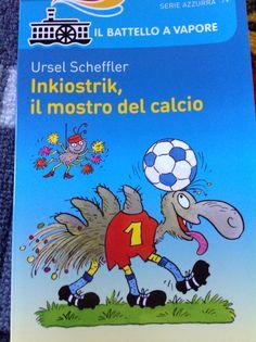 http://www.mammavvocato.blogspot.it/2015/01/tra-caffe-e-prime-letture-tema-calcio.html Una lettura dai 6/7 anni in su a tema calcio!