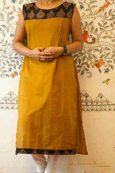 ♡✹ Salwar Neck Designs, Churidar Designs, Kurta Neck Design, Neckline Designs, Kurta Designs Women, Dress Neck Designs, Blouse Designs, Salwar Pattern, Kurta Patterns