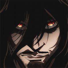 anime, gif, and alucard image