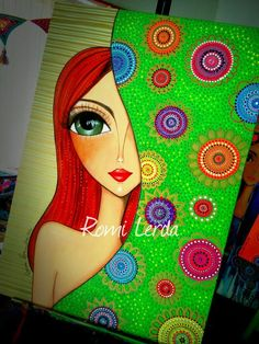 Risultati immagini per romina lerda Canvas Painting Tutorials, Dot Art Painting, Pottery Painting, Fabric Painting, 3d Art Drawing, Alcohol Ink Art, Arte Pop, Art Background, Art Journal Pages
