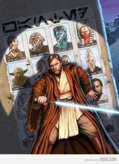Obi Wan: Days of Future Past - Proof that Obi Wan is the greatest Jedi next to Yoda: Went toe-to-toe or defeated the greatest Siths, Mandalorian warriors, and Separatist generals and survived the fall of the Jedi council.