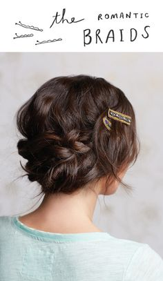Romantic braids for an event or just daily dressing