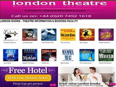 London Theatre Tickets is the part of the London theatre network.