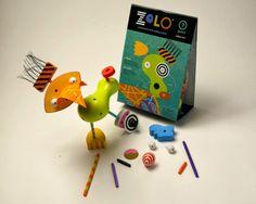 Este juego de construcción hará volar la imaginación de tu hijo/a. ¡Una chispa de la creatividad!