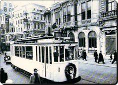 Beyoğlu, sarı tramvay - 1930 lar