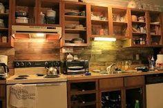 Resultado de imagem para cozinhas feitas de  paletes passo a passo