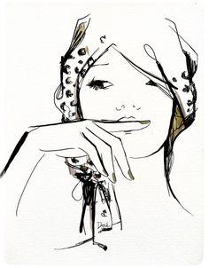 La Baguette Magique * (lifestyle with attitude): My Californian Psycho-Babble. Garance Doré, Une Vie à New York: Manicure, Pédicure, Facial !