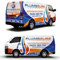 Design my Plumbing Van (logo attached) by ssrihayak