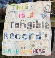 Stitching and Bacon: Why I quilt and #quiltconreject