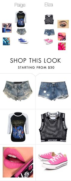 """""""ring gear"""" by katie88styles on Polyvore featuring One Teaspoon, RVCA, Moschino, Fiebiger and Converse"""