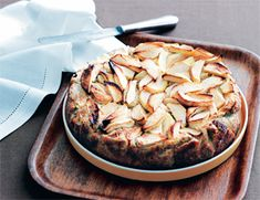 æblekage med sirup claus meyer, æblekage opskrift