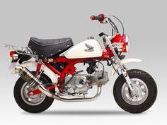 Honda Z50JZ Monkey. Yoshimura Street Sports Cyclone GP-Magnum Muffler. Source: http://www.j-mart.biz/j-parts/index.php?main_page=product_info&cPath=1_25_148_955&products_id=19592