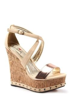 Luichiny Shoes: Mad Dox Wedge Sandal