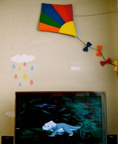 fabric kite