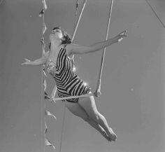 Vintage Circus Aerialist | Loomis Dean, Photographer (1952)