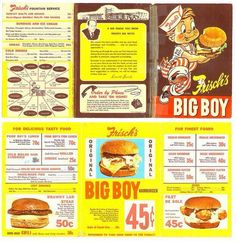Frisch's menu
