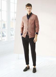 Reiss Spring/Summer 2013 Menswear Lookbook: Light & Sun Bleached Colours & Modern Slim Tapered Styles For Urban Men