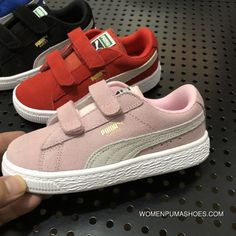 f4d669f28cf Puma Kids Shoes 24-35 Suede Pink Online