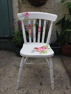 Easy Sharpie Pen Cushion | Antike stühle, Stühle weiß und Alte stühle