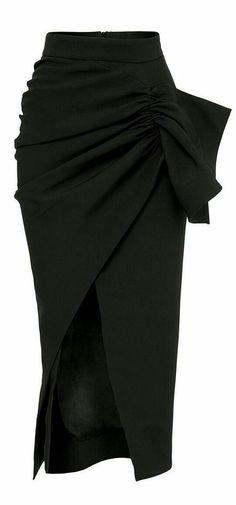 868c687722 Pencil Skirt Dress, Pencil Skirt Black, Dress Skirt, Outfit Office, Office  Skirt