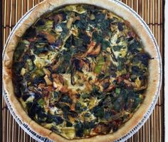 <p>Some people think going vegan means giving up dishes like quiche forever. Luckily, that is far from the case and this vegan quiche proves it.</p>
