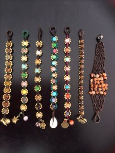 macrame bracelets by Ravi Scott