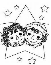 Raggedy Ann Coloring Pages - Bing Images