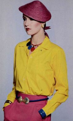 1979 Yves Saint Laurent 197 1970s accessories