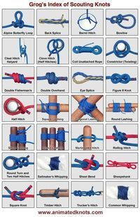 Essential Knots for Camping, Backpacking and Survival more z .- Essential Knots for Camping, Backpacking and Survival mehr zum Selbermachen auf … Essential Knots for Camping, Backpacking and Survival more to do yourself on interesting things … - Camping Survival, Survival Life Hacks, Bushcraft Camping, Wilderness Survival, Survival Prepping, Survival Skills, Camping Gear, Camping Hacks, Survival Backpack
