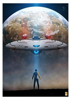 Star Trek Enterprise-G poster by thefirstfleet on DeviantArt