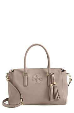 Tory Burch 'Thea' Leather Satchel available at #Nordstrom