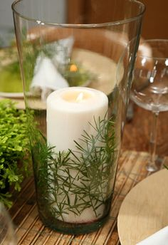 Gorgeous and natural, and so easy! #green #ecoevent