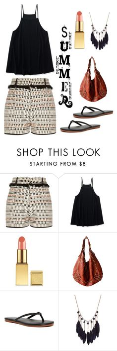 """""""Summer"""" by im-karla-with-a-k ❤ liked on Polyvore featuring River Island, Aéropostale, AERIN, Isabella Fiore and Yosi Samra"""