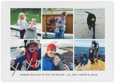 With Hugs and Kisses (Multi-Photo) - Silver - Paperless Post