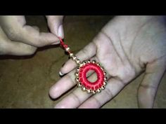 Fashion Trends Hi guys , Nice to see you again with new video In This Video I'm going to show you how to make saree latkans using silk Thread , it's very eas. Thread Bangles, Thread Jewellery, Fabric Jewelry, Saree Tassels Designs, Saree Kuchu Designs, Peacock Embroidery Designs, Beaded Embroidery, Hand Embroidery Videos, Handmade Beaded Jewelry