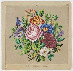 1870-1900 needle work pattern