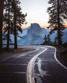 "The World's Greatest Roads on Instagram: ""Take a moment to soak it in  : @ryanresatka : Yosemite National Park, California : Tag your road trip team…"""