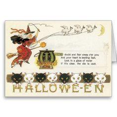 Vintage Halloween Cards | Vintage Halloween Card | Zazzle.co.uk
