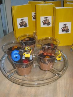 The Princess And Pea Wall E Party Birthday Treats