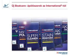 Új Boatcare- ápólószerek az International ® -tól.