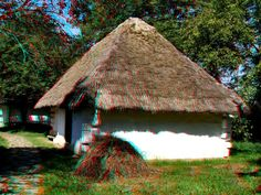 Zalagerszeg-Skanzen 3d Photo, Photo Art, Hungary, Cabin, House Styles, Home Decor, Decoration Home, Room Decor, Cabins