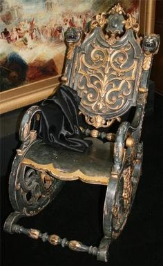 Victorian Wheelchair- Emilie would be so proud!